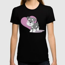 Beautiful Love Anime Adorable Dog - miniature-schnauzer-puppy-dog-adorable-baby-love-tshirts  Collection_487496  .jpg