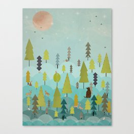 goodnight little sunshine Canvas Print