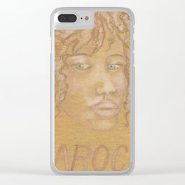 Barocco Clear iPhone Case