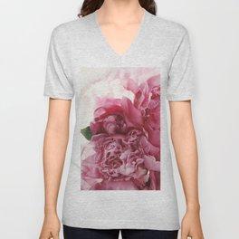 pink bloom #society6 #decor #buyart Unisex V-Neck