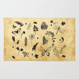 Retro Botanicals Rug