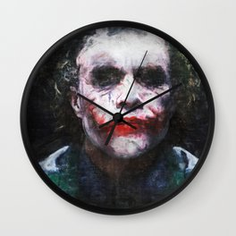 The Joker - The Clown Prince Of Gotham Wall Clock