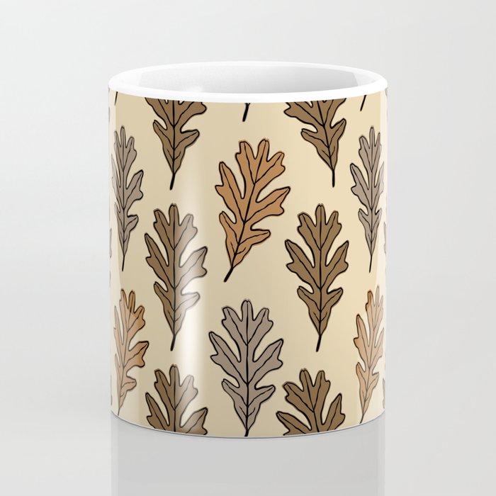 The Oak Leaves Coffee Mug