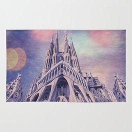 Barcelona Sagrada Familia Rug
