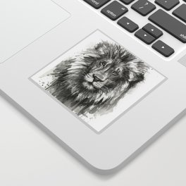 Lion Watercolor Sticker