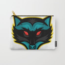 North American Raccoon Mascot Carry-All Pouch