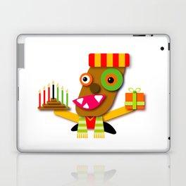 Red and Yellow Kwanzaa Kawaii Cartoon Laptop & iPad Skin