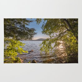 Secret Place By The Lake Rug