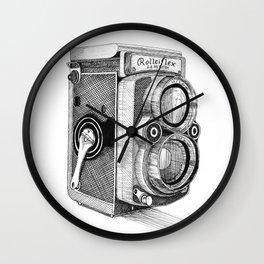 Rolleiflex Vintage Camera Wall Clock