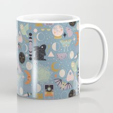 Lunar Pattern: Blue Moon Mug