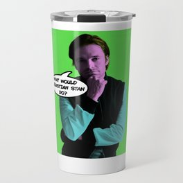 What Would Sebastian Stan Do? Travel Mug