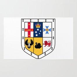 Australian Coat Of Arms Rug