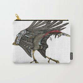 Steampunk Stork Carry-All Pouch