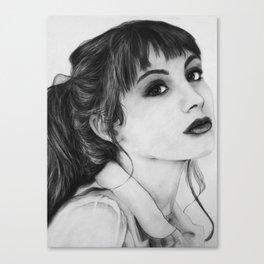 Miss Ditsy (Hannah Marks) Canvas Print