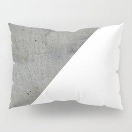 Concrete Vs White Pillow Sham