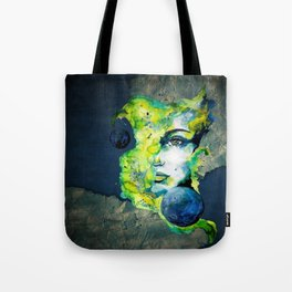 Esther Green (Set) by carographic watercolor portrait Tote Bag