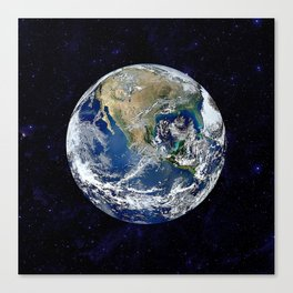 The Earth Canvas Print