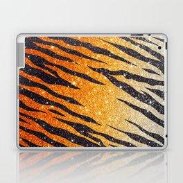 Tiger Shout Glitter Stripe Laptop & iPad Skin