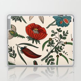 Pattern from field flowers and herbs Laptop & iPad Skin
