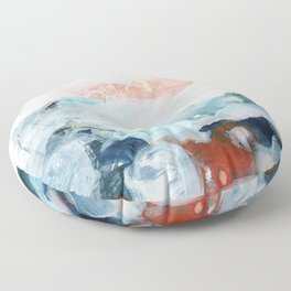 abstract painting III Floor Pillow