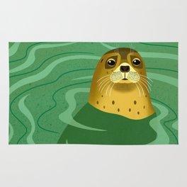 Leopard Seal Rug