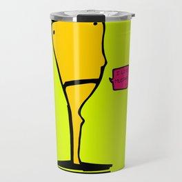 I like mustard Travel Mug