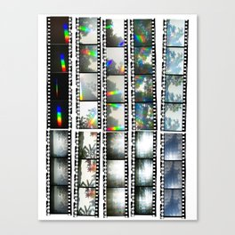 Film Strips From Outer Space Canvas Print