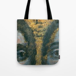 Bear One Another's Burdens Tote Bag