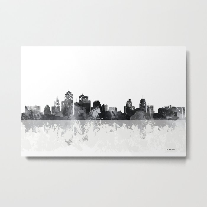 Kansas City, Missouri skyline Metal Print