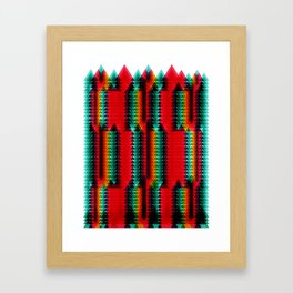 GEOMETRIC_02 Framed Art Print