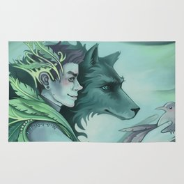 The Forest Prince Rug