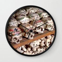 "Hallstatt, Austria Beinhaus ""Bone House"" Wall Clock"