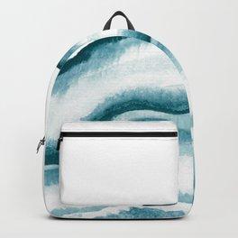 Watercolor Geode Backpack