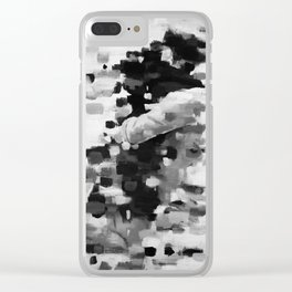 Our Own Dimension, B&W Clear iPhone Case