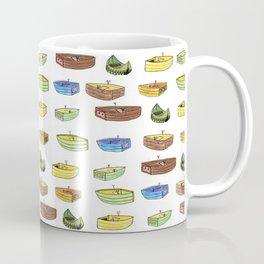 Boat pattern Coffee Mug
