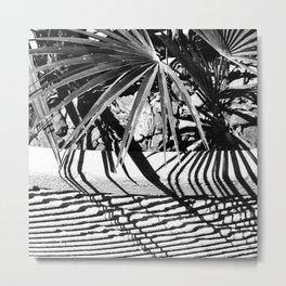 Tropical Plant, Barcelona, Spain Metal Print