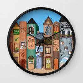 Wee Folk Lane Wall Clock