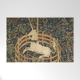The Unicorn In Captivity Welcome Mat