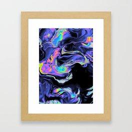 DESPAIR IN THE DEPARTURE LOUNGE Framed Art Print