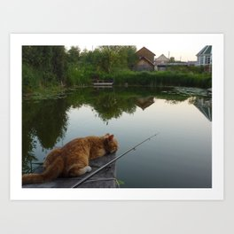 Fisherman Art Print