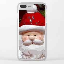 Santa20150902 Clear iPhone Case
