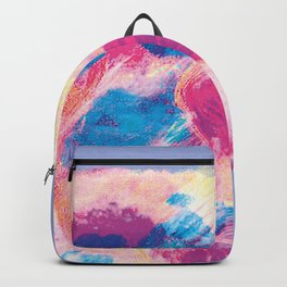 Colours of summer 1 -Abstract pattern Backpack
