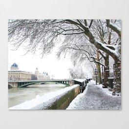 Notre-Dame Bridge,Paris Canvas Print