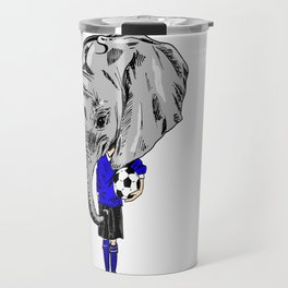 Footy Elephant Travel Mug