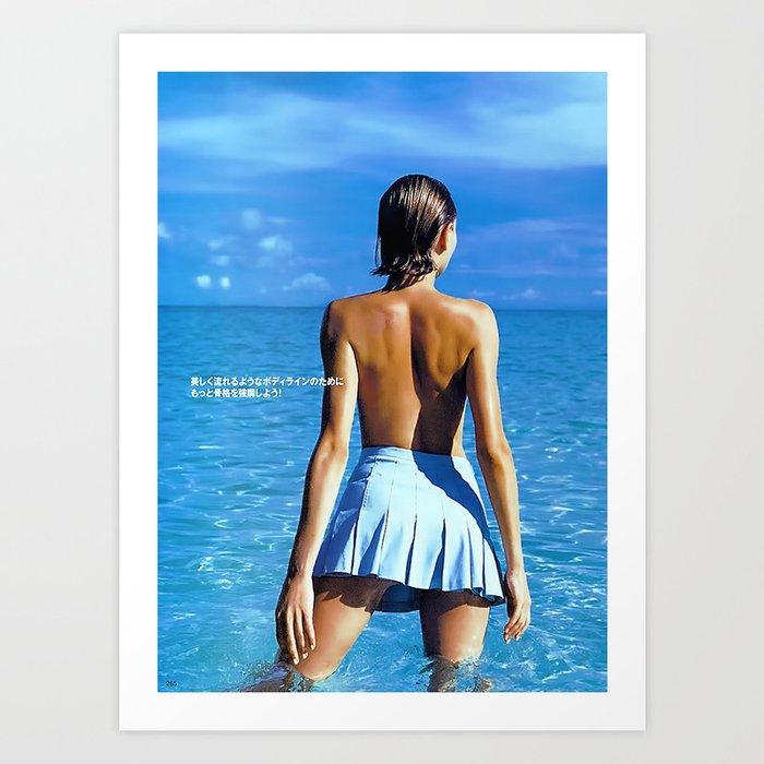 blu Kunstdrucke