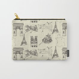 France vintage Carry-All Pouch