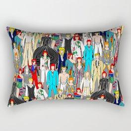 Bowie-A-Thon Rectangular Pillow