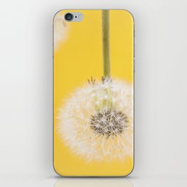 Whishes on yellow iPhone Skin
