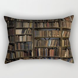 Library books Rectangular Pillow
