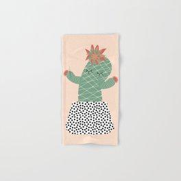Mrs Succulent Hand & Bath Towel
